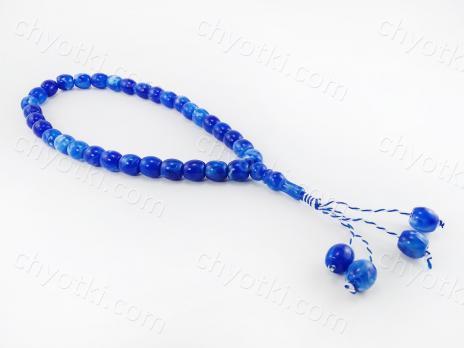 Чётки синие