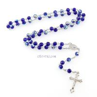 Розарий католический синий_2