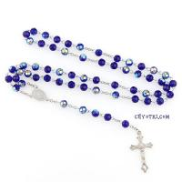 Розарий католический синий_1