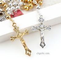 Розарий католический из золота