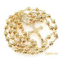 Розарий цвета золота и серебра_4